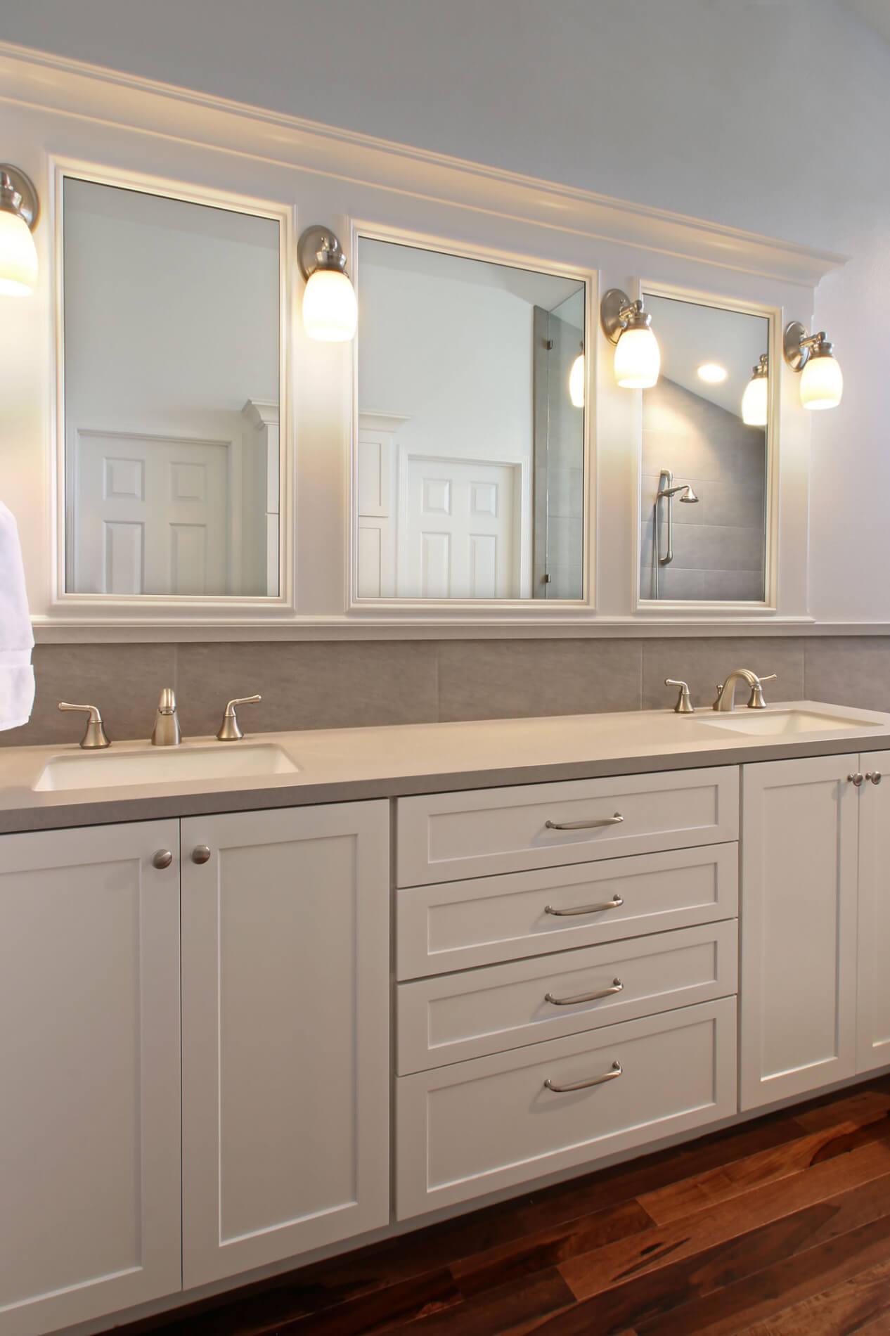 Master Bathroom Vanity, Large Bathroom Vanity, His & Hers Vanity
