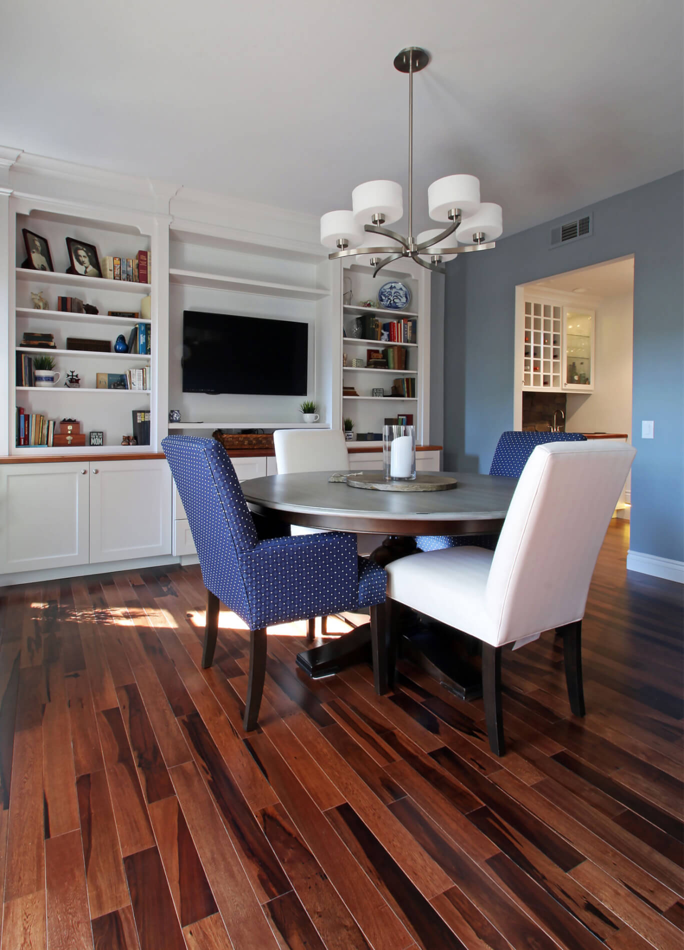 Family Friendly Dining Room Remodel in Orange County