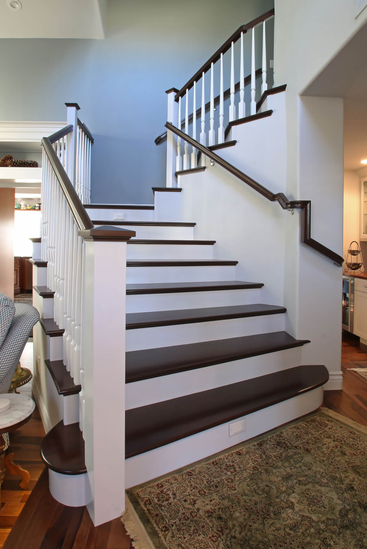 Staircase Remodel in Newport Beach,