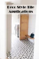 Deco Tile for Remodeling