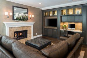 Luxury Living Room Design, Remodeled Living Room, Great Room Home Design