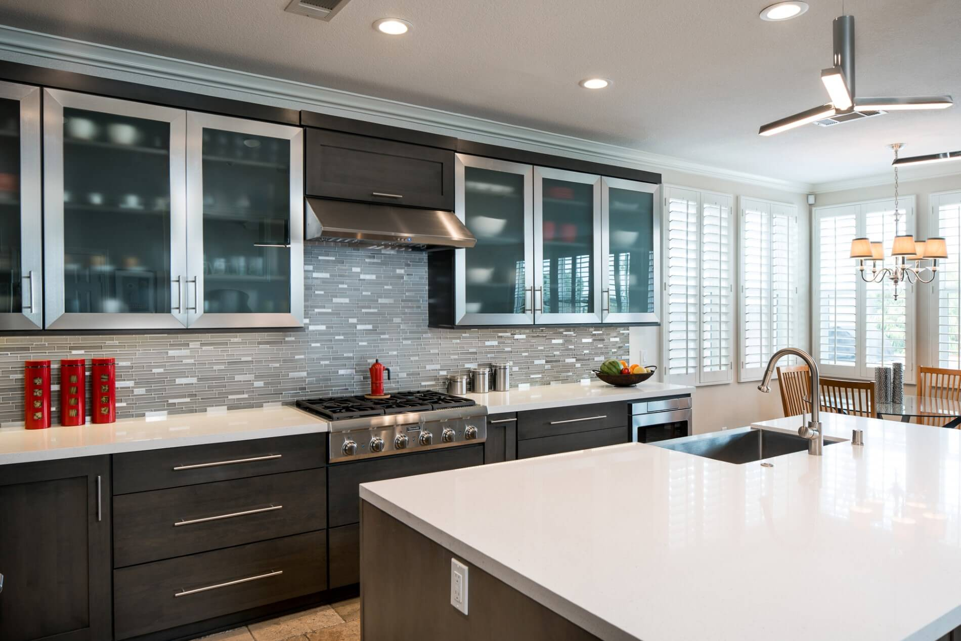 Modern Kitchen Design Orange County, Custom Kitchen Design