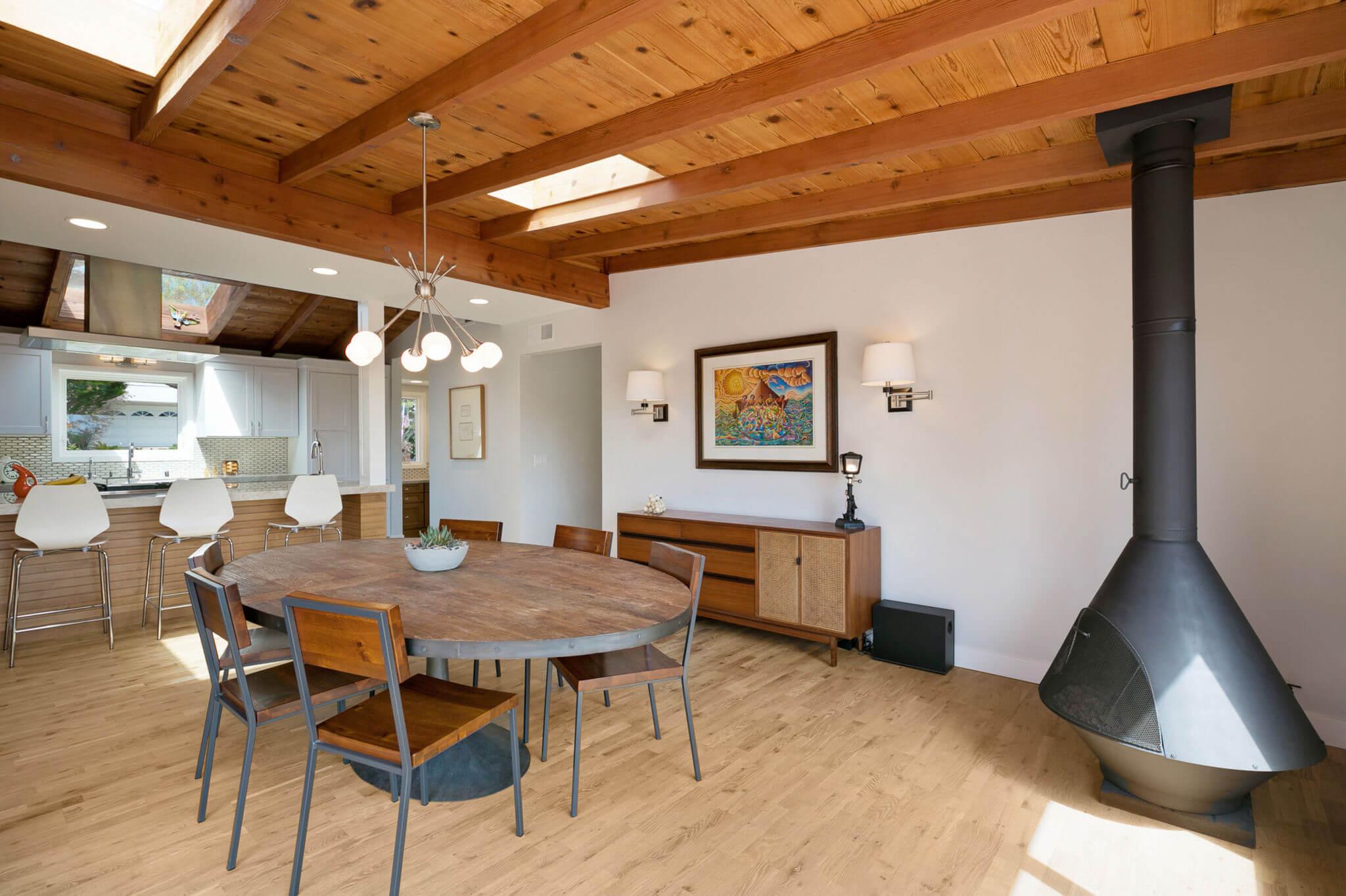 Kitchen Eating Area Remodel, Luxury Home Design San Clemente, Open Concept Living Design