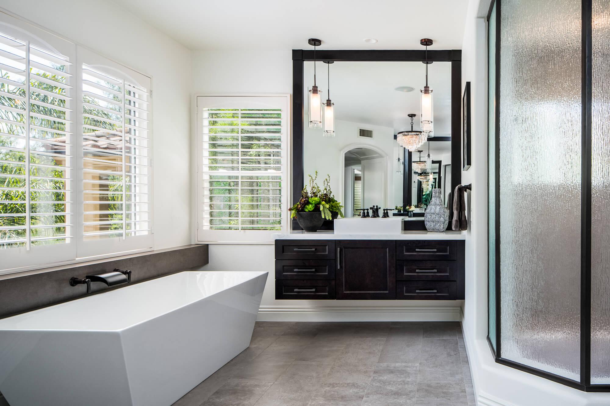 Floating Vanity, Master Bathroom Design, Master Bathroom Remodel