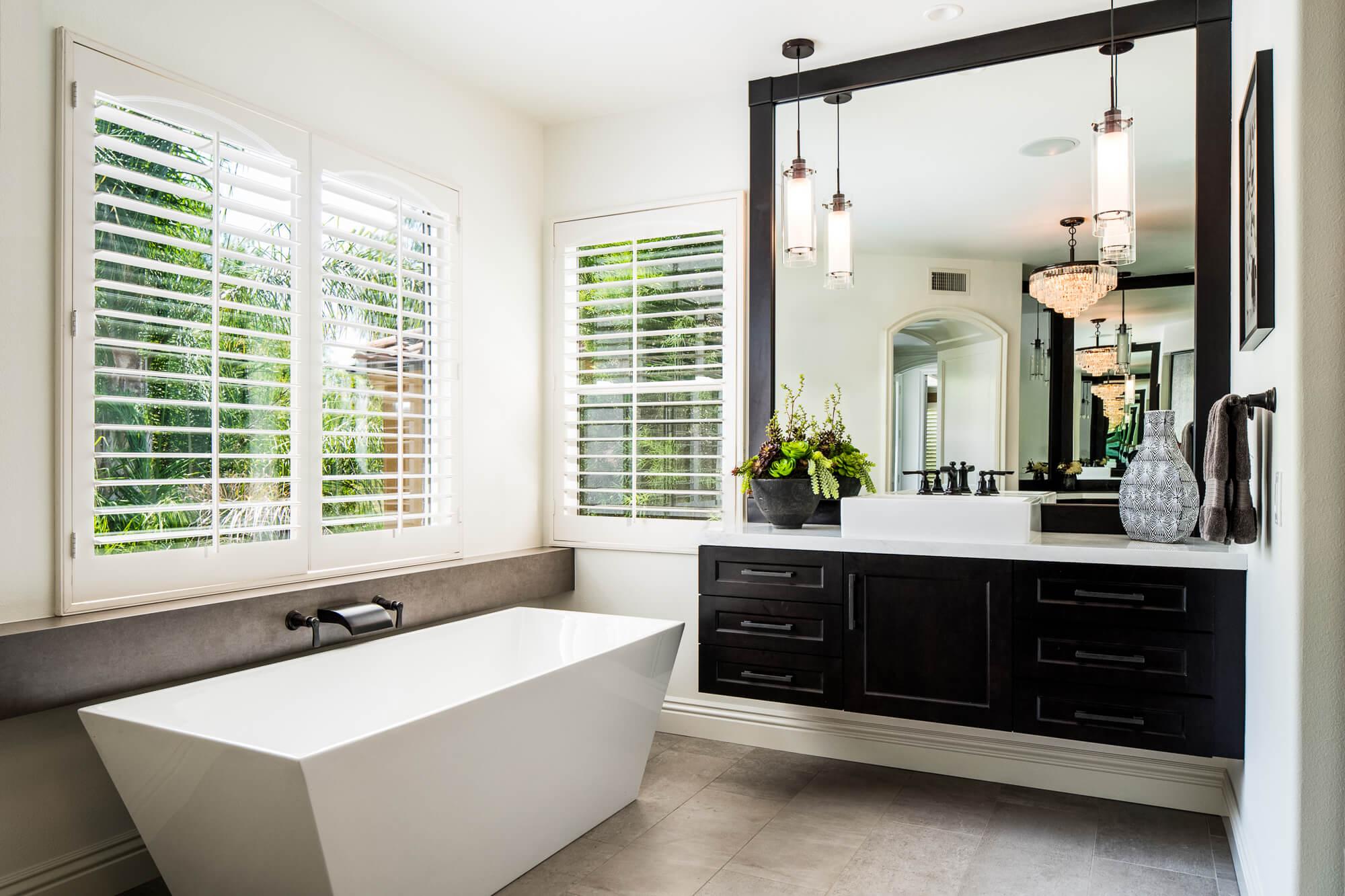 Master Bathroom floating Vanity, Floating Vanity Master Bathroom, Custom Design Master Bathroom