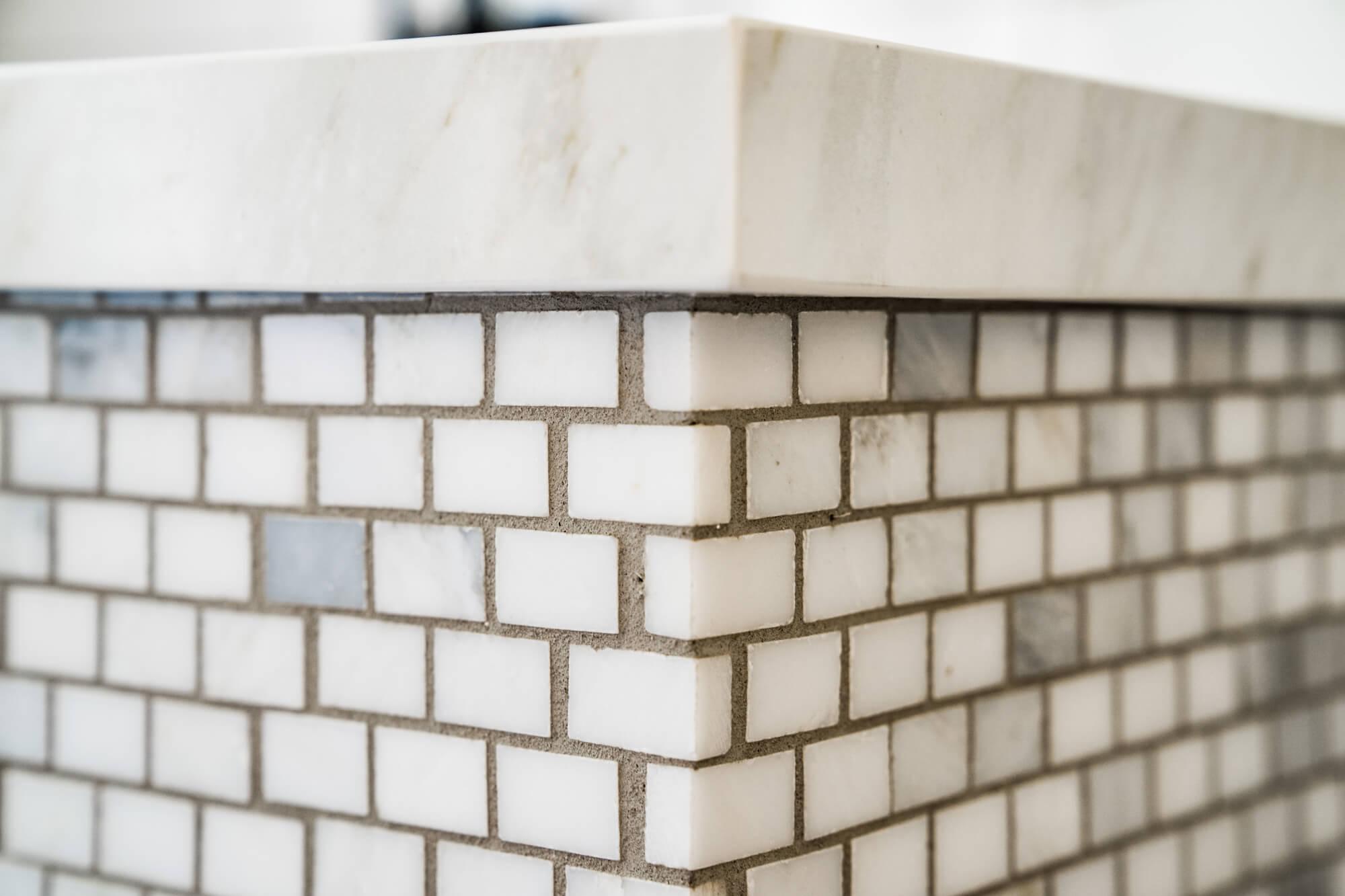 Tile Detail in Master Bathroom, Tile DEsign in Shower, Custom Shower Design