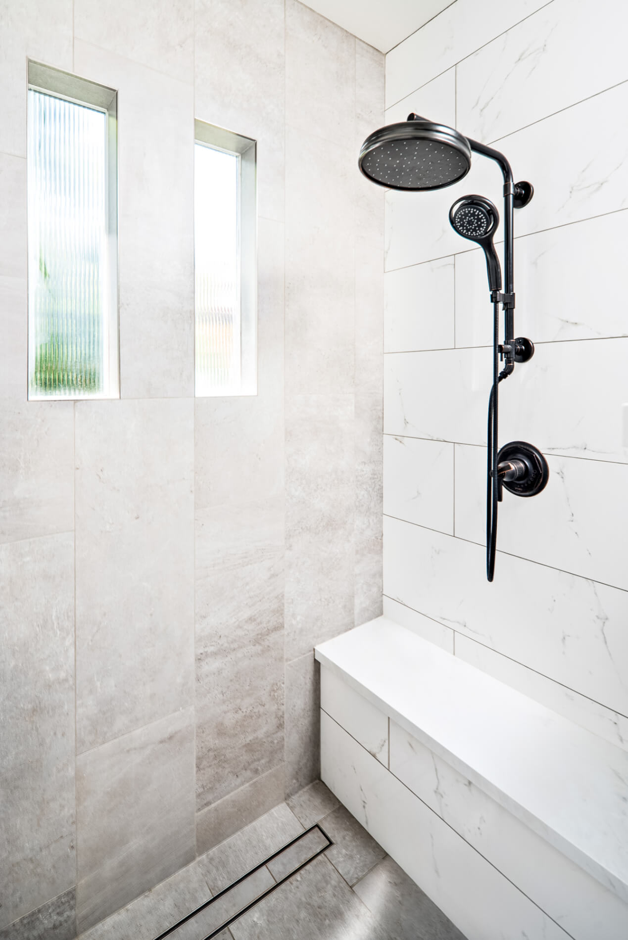Orange County Master Bathroom Remodel, Master Bathroom Wet Room Remodel