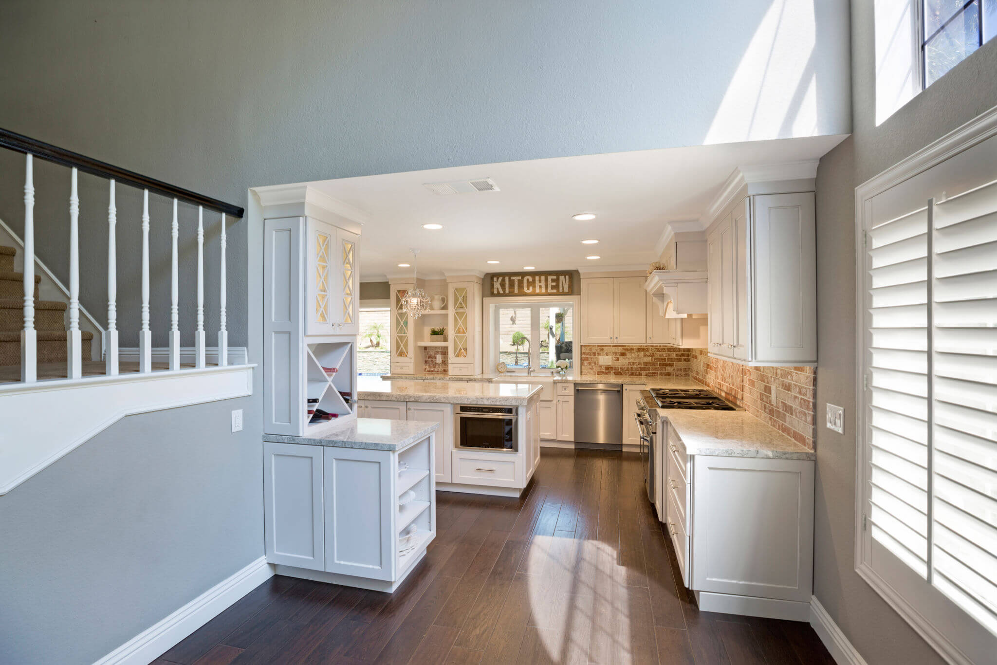 Kitchen Island, Kitchen Remodel, Custom Kitchen Remodel