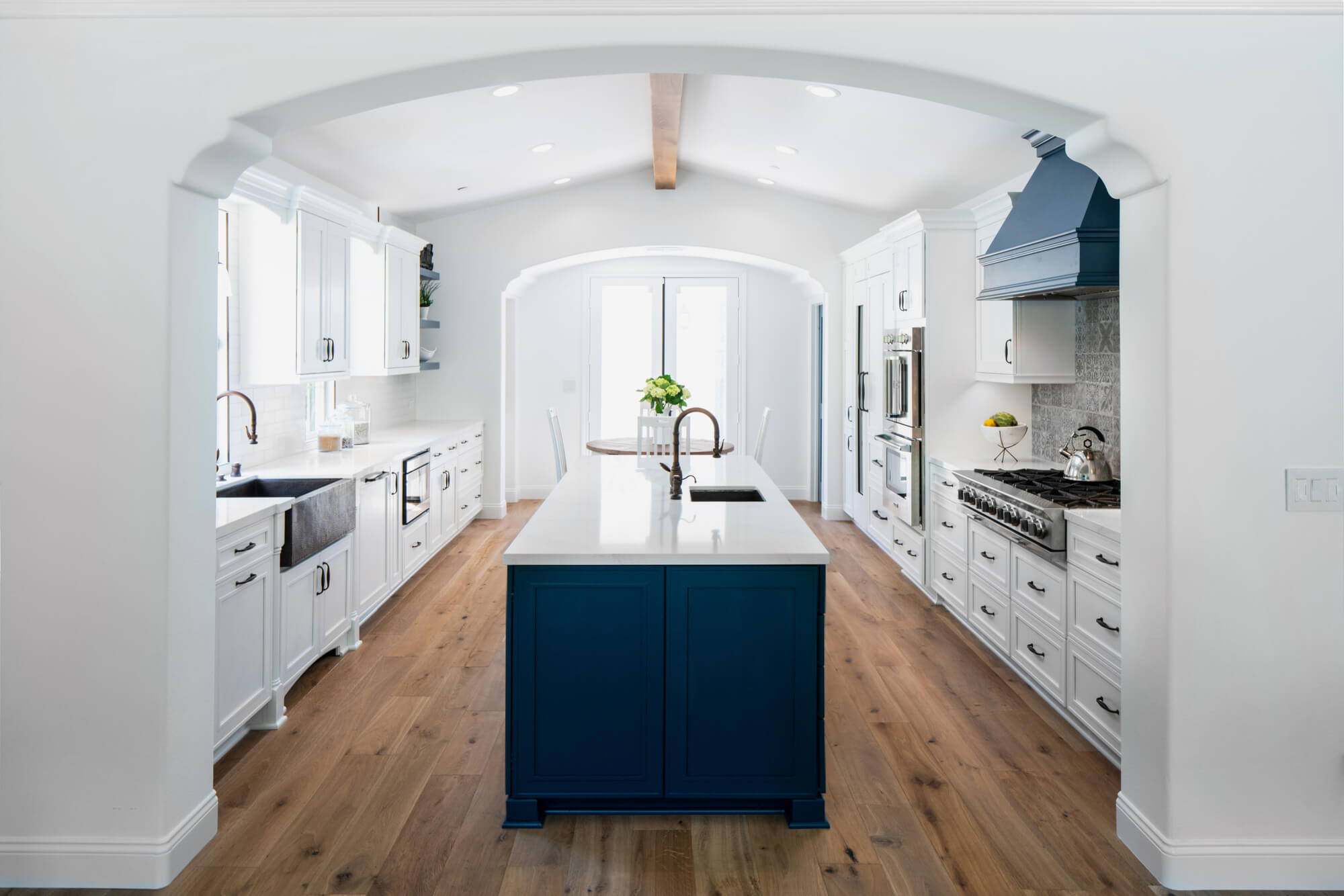San Clemente Farmhouse Kitchen Remodel