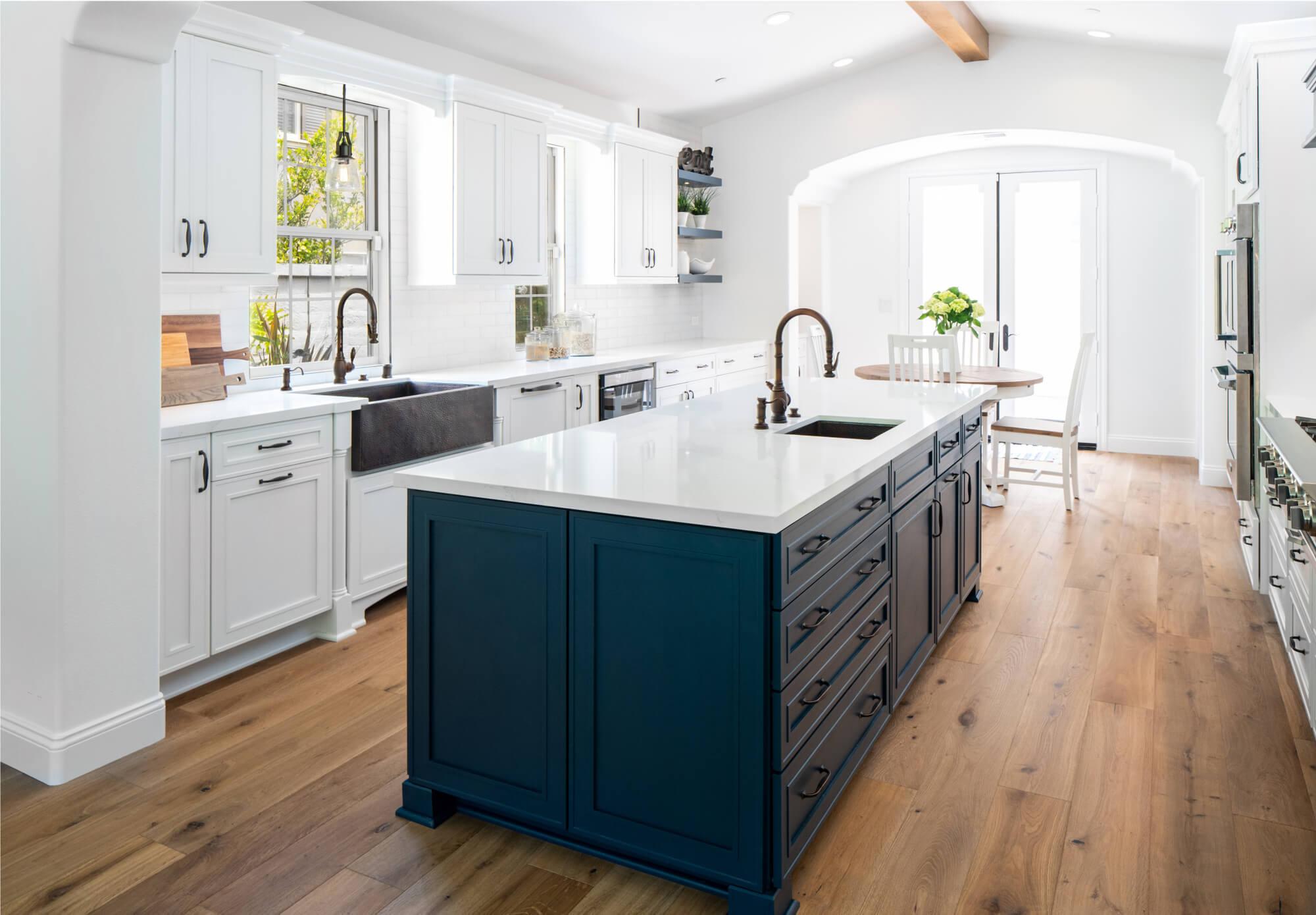 San Clemente Farmhouse Kitchen