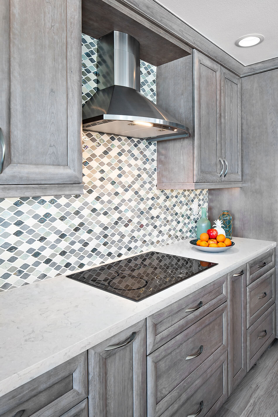 Geometric patterns in kitchen design trends for 2020