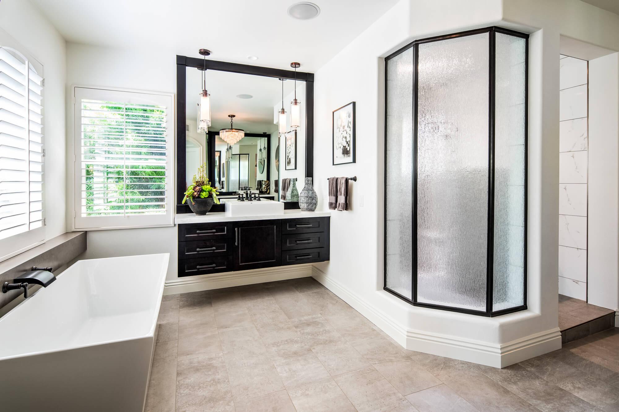 Coto de Caza master bathroom remodel