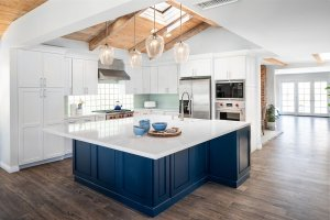Blue Kitchen Designs are In