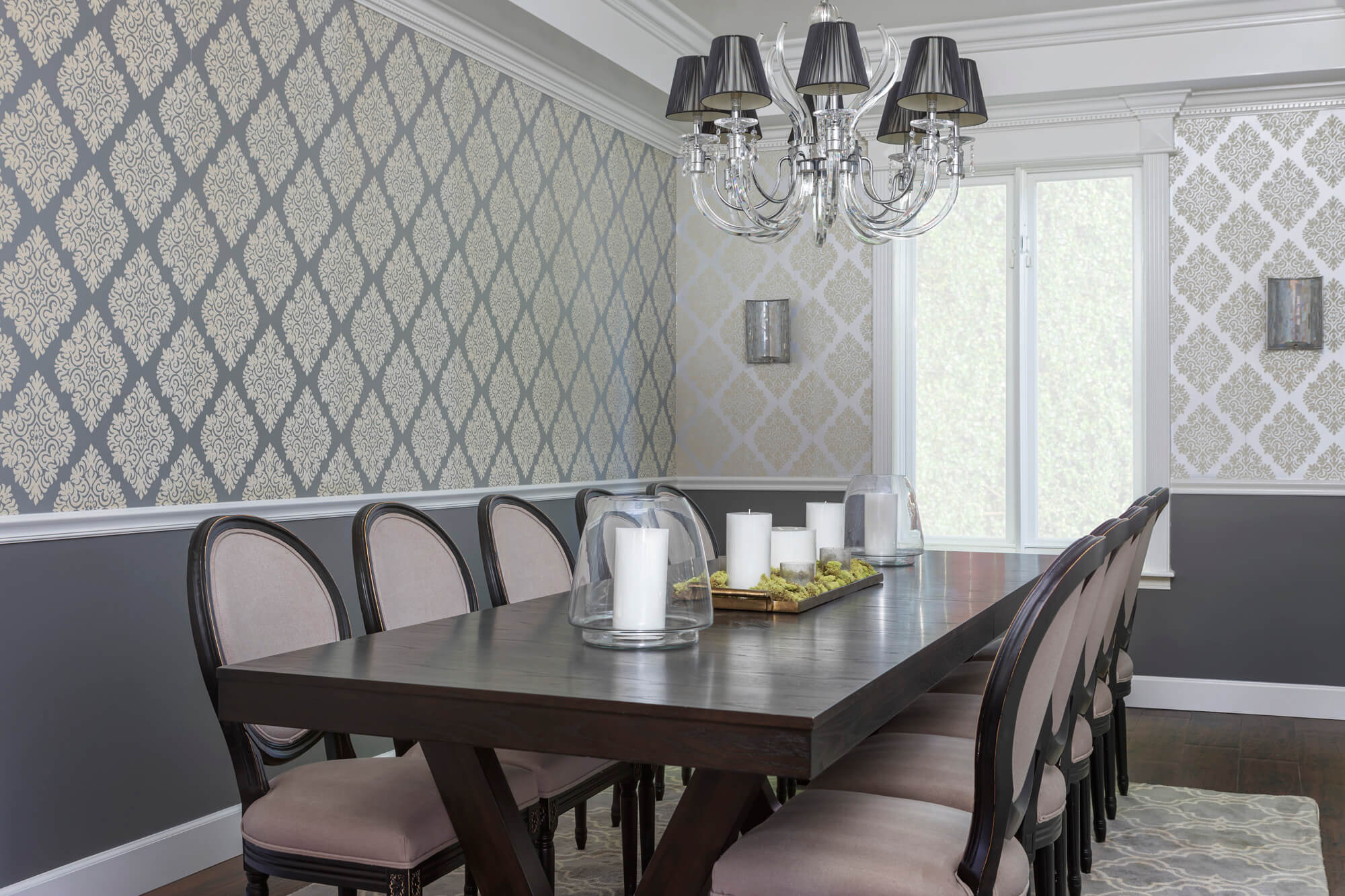 Using wallpaper in 2020 is on design trend for home remodels