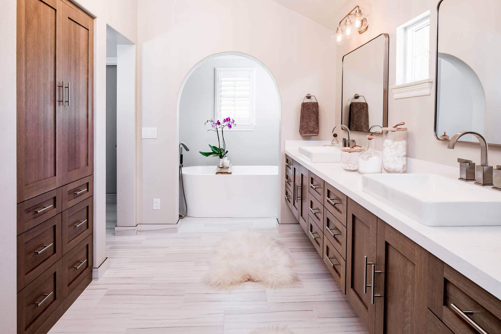 Ladera Ranch master bath remodel