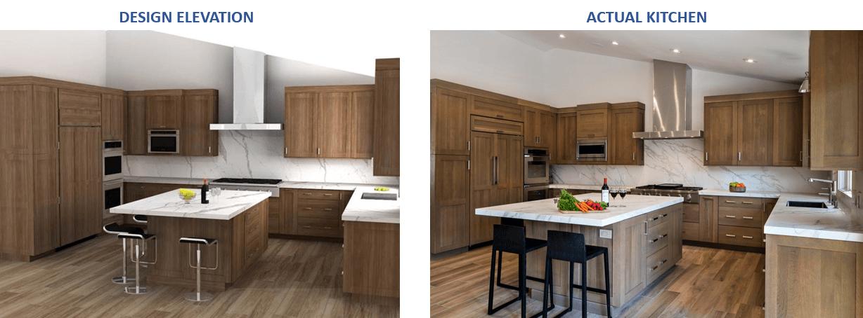 Kitchen Design Elevations
