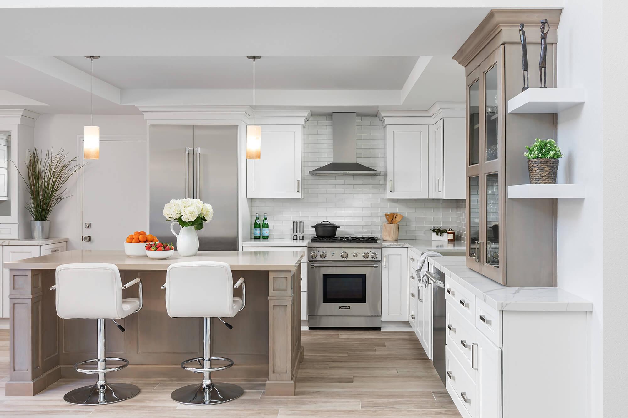 Kitchen Design for Newport Beach Renovation