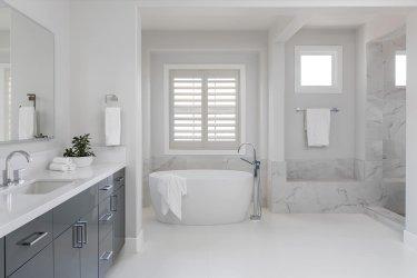 Newport Coast master bath remodel