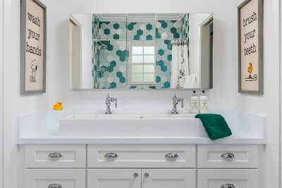 Laguna Beach Jack & Jill Bathroom
