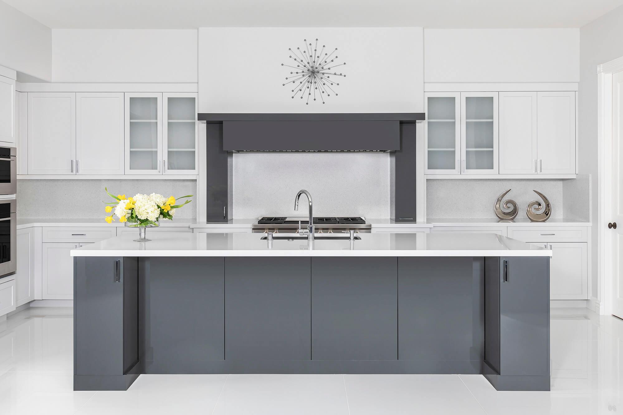 Charcoal-grey-modern-kitchen-design