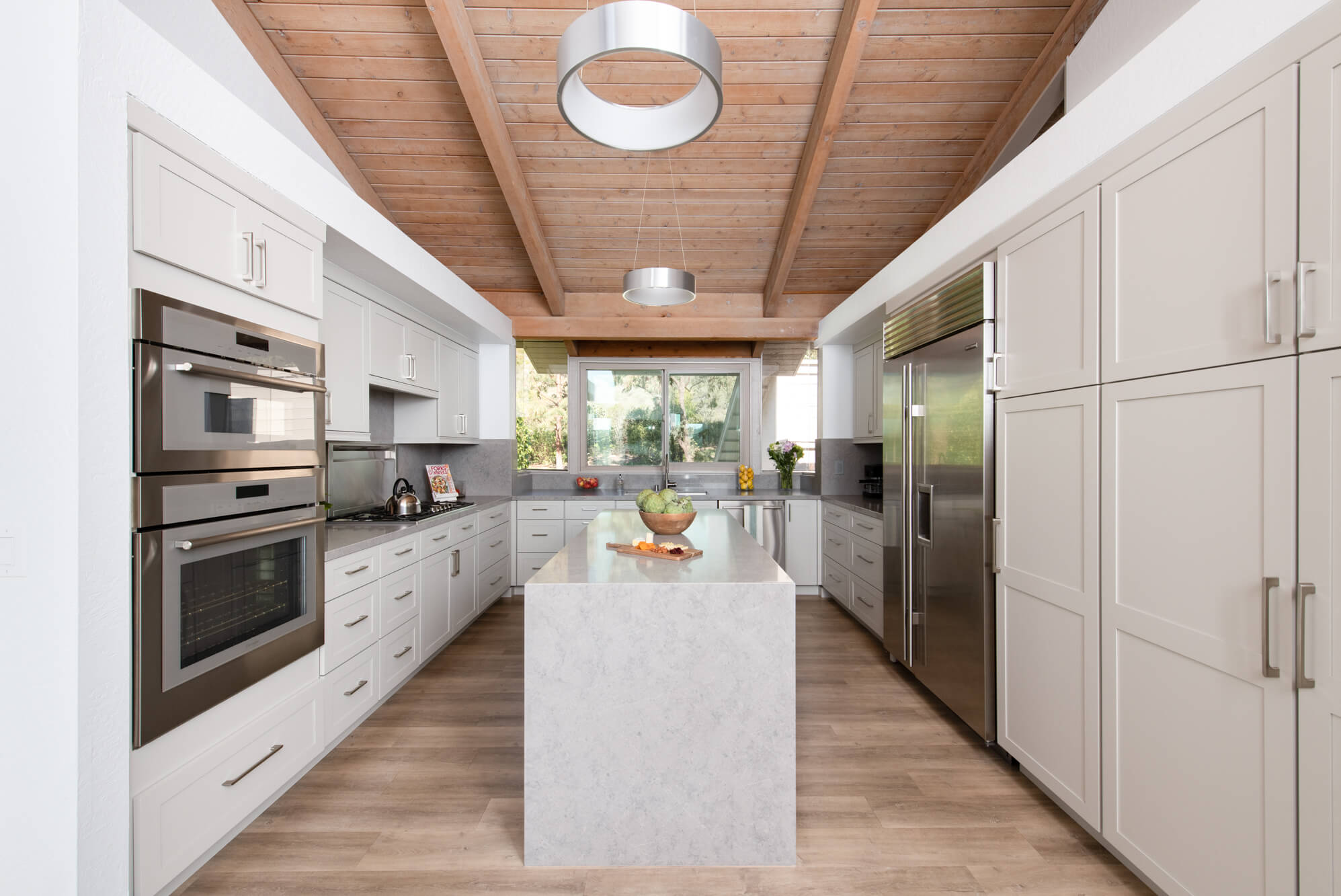 Greige-cabinetry-in-kitchen-remodel