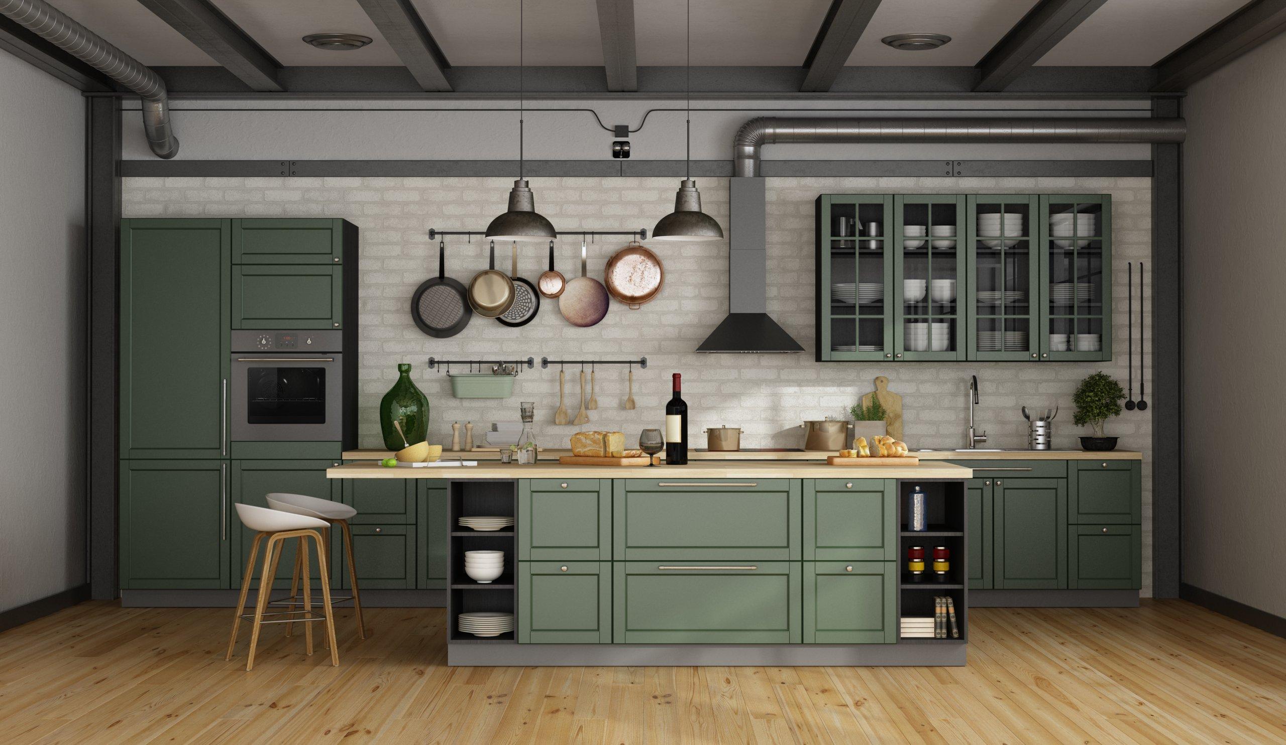 Modern-green-kitchen-remodel