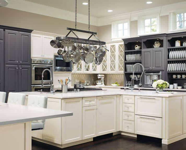 Gray Omega Kitchen Cabinetry