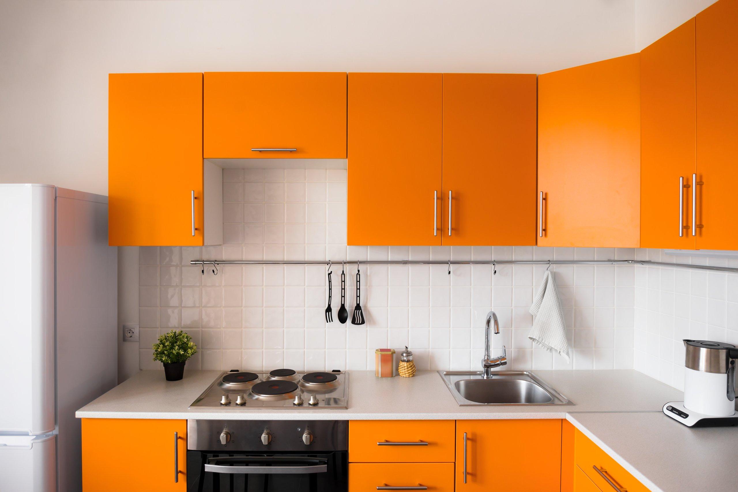 Orange-fun-vibrant-kitchen-color