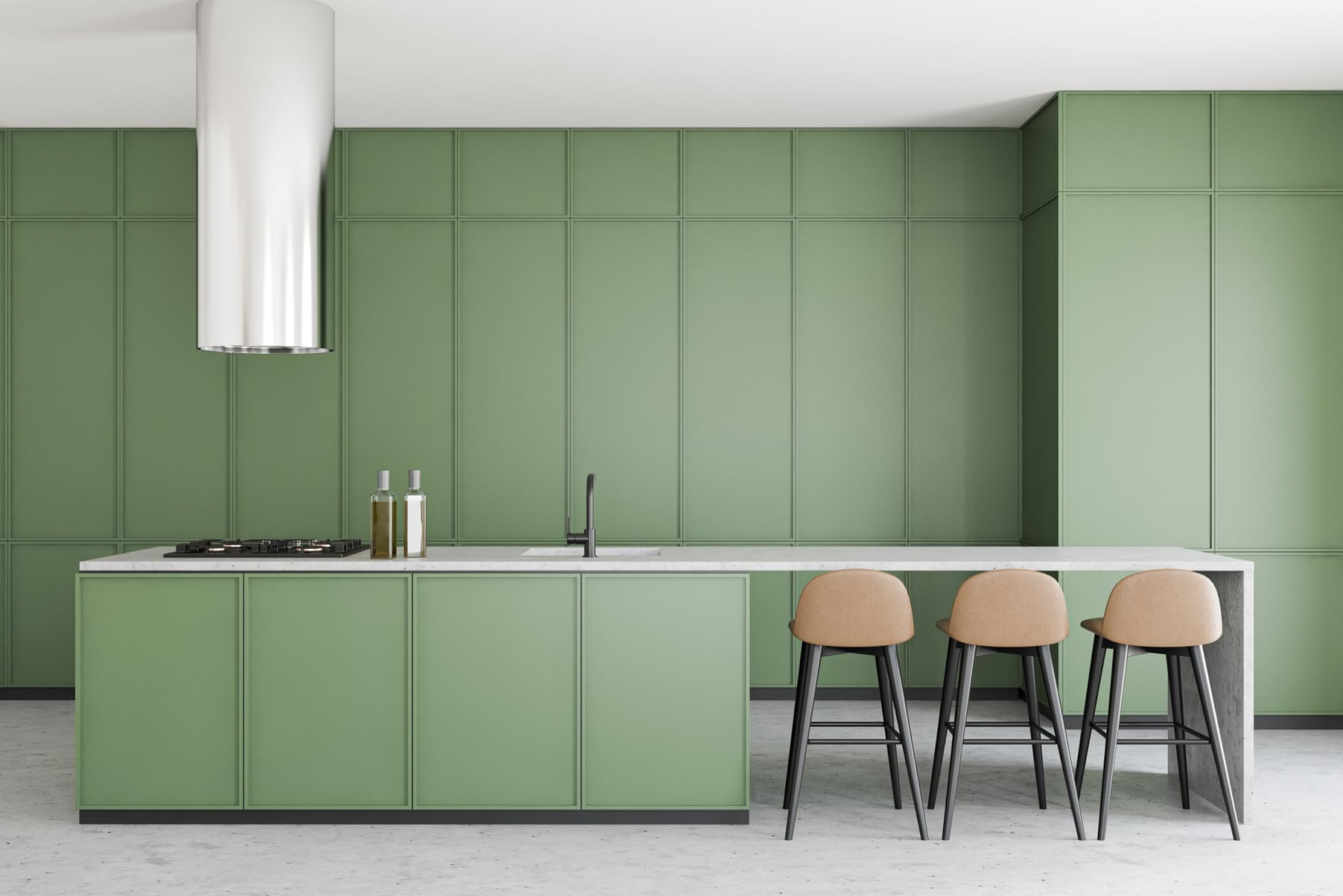 Pale-green-kitchen-cabinetry