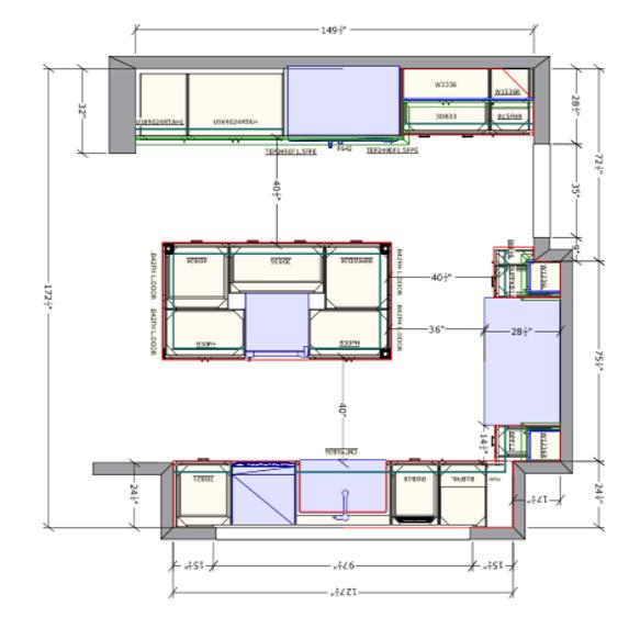 Kitchen Cabinet Elevations
