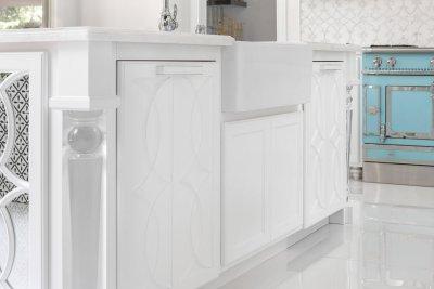 Custom cabinetry in luxury kitchen remidel in Coto de Caza