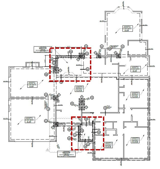 Tustin Room Addition Blueprints