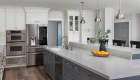 Tustin kitchen renovation with small room addition