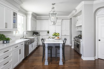 Traditional Newport Beach Kitchen Remodel
