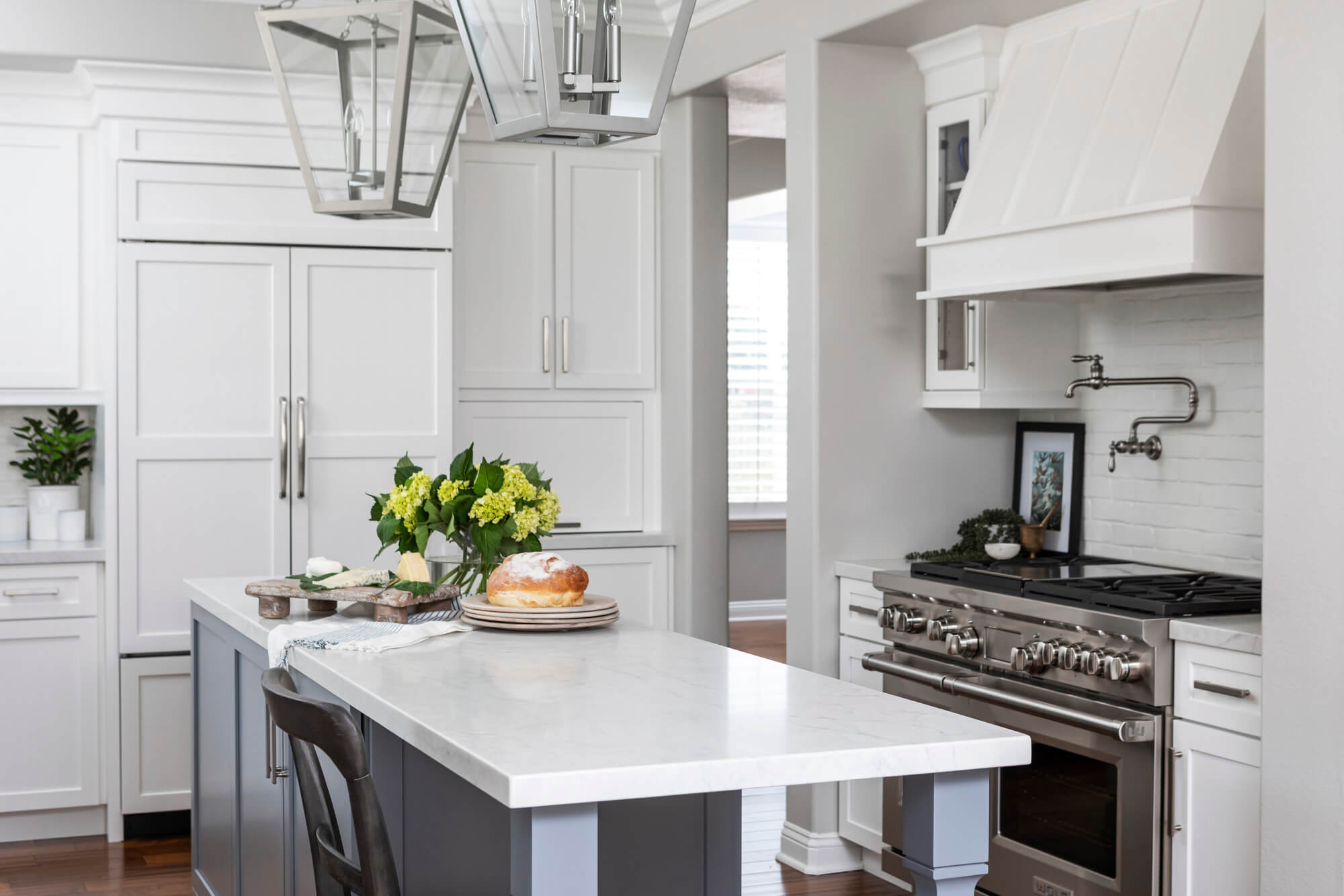 Traditional Newport Beach Kitchen Design