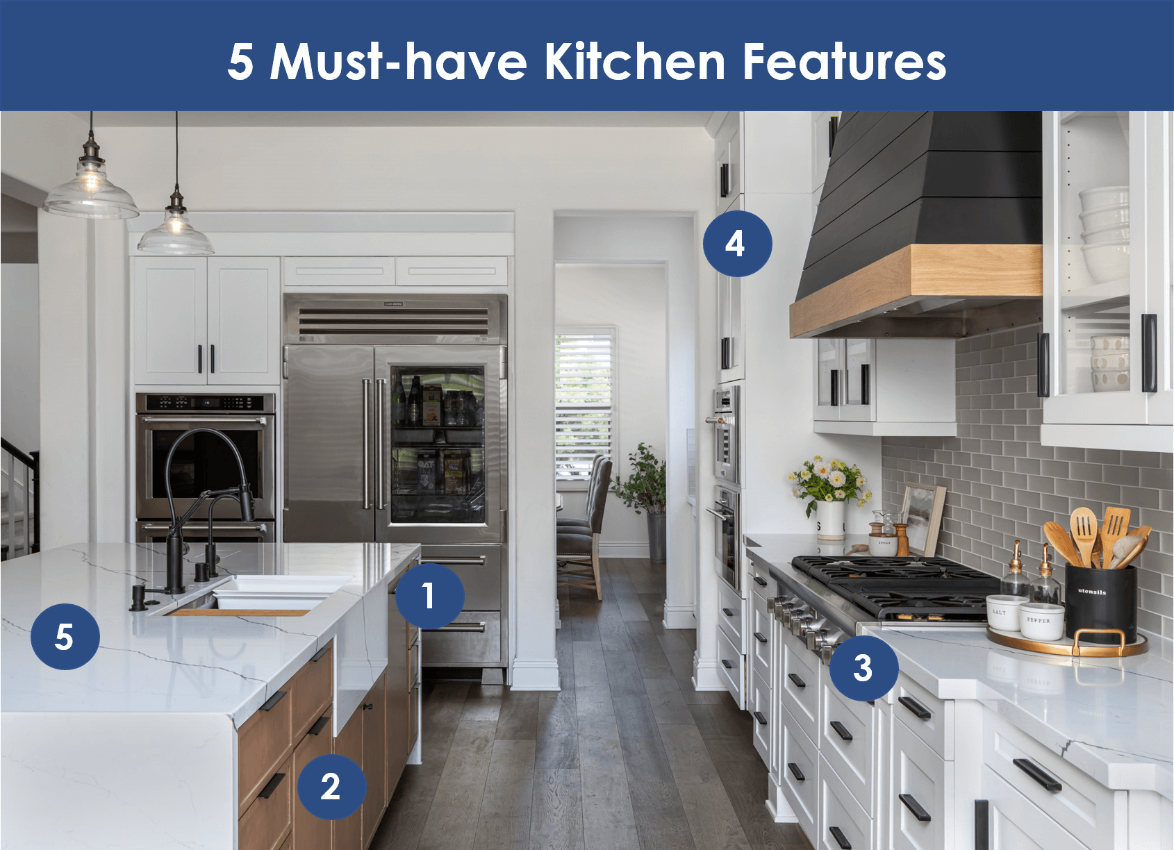5 Must-have Kitchen Features