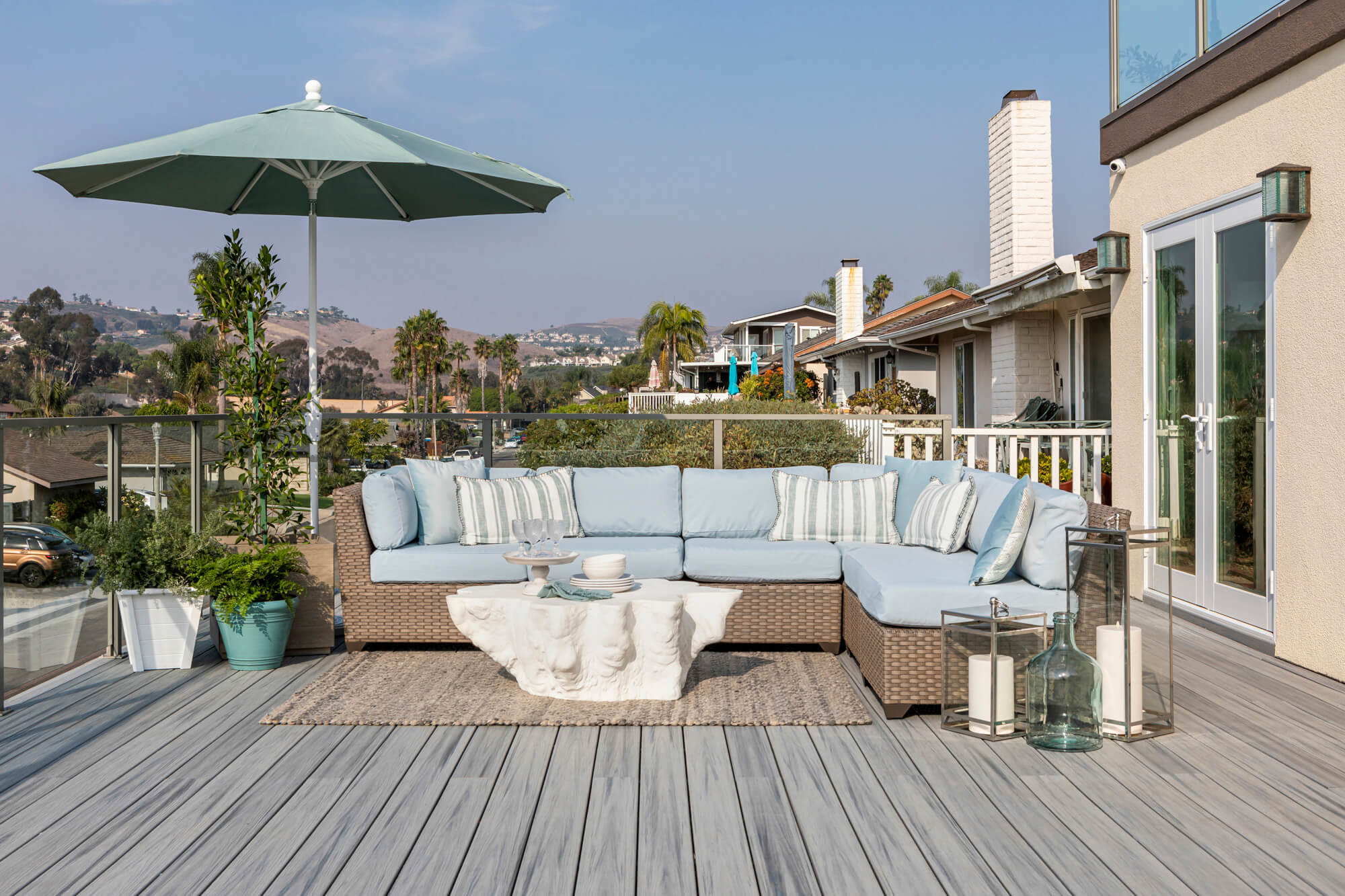 San Clemente Hillside Deck Addition