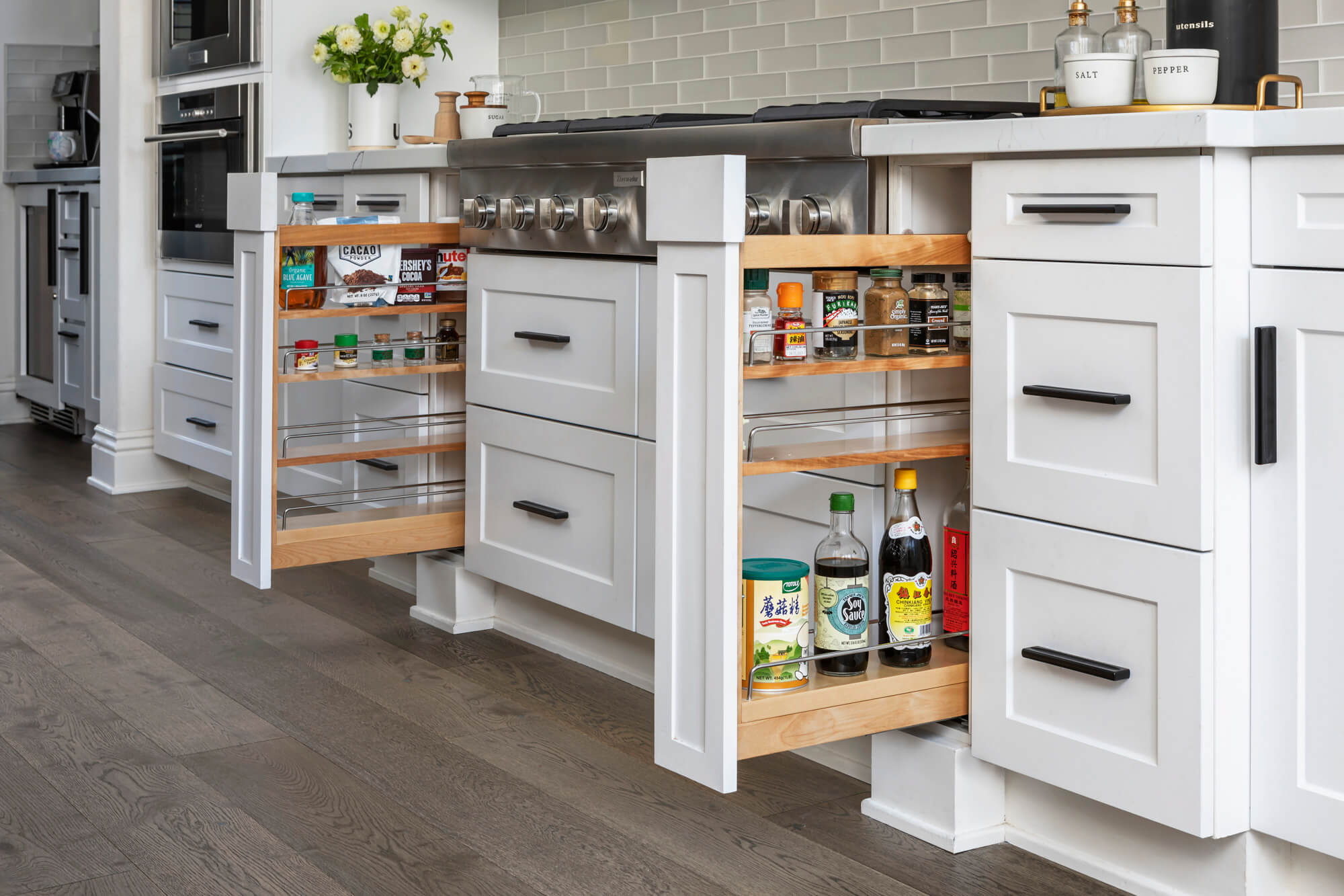 Pull-out-spice-rack