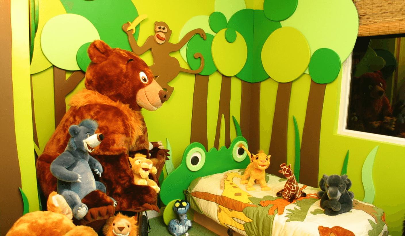 Jungle-theme-childrens-room