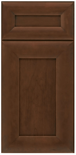 Transitional custom cabinet door style
