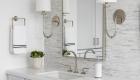 Vanity-Master-Bath-Marble-Mosaic-Wall