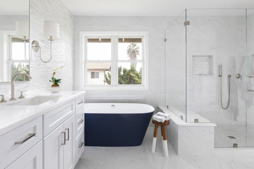 Dana Point Majestic Master Bathroom Makeover