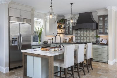 Rustic San Clemente Kitchen Makeover