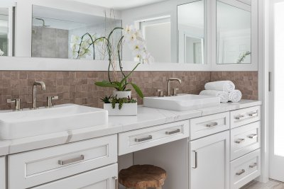 Irvine Master and Hall Bathroom Makeover