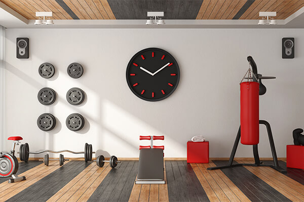 Remodeling in Place is increasing demand for home gyms.