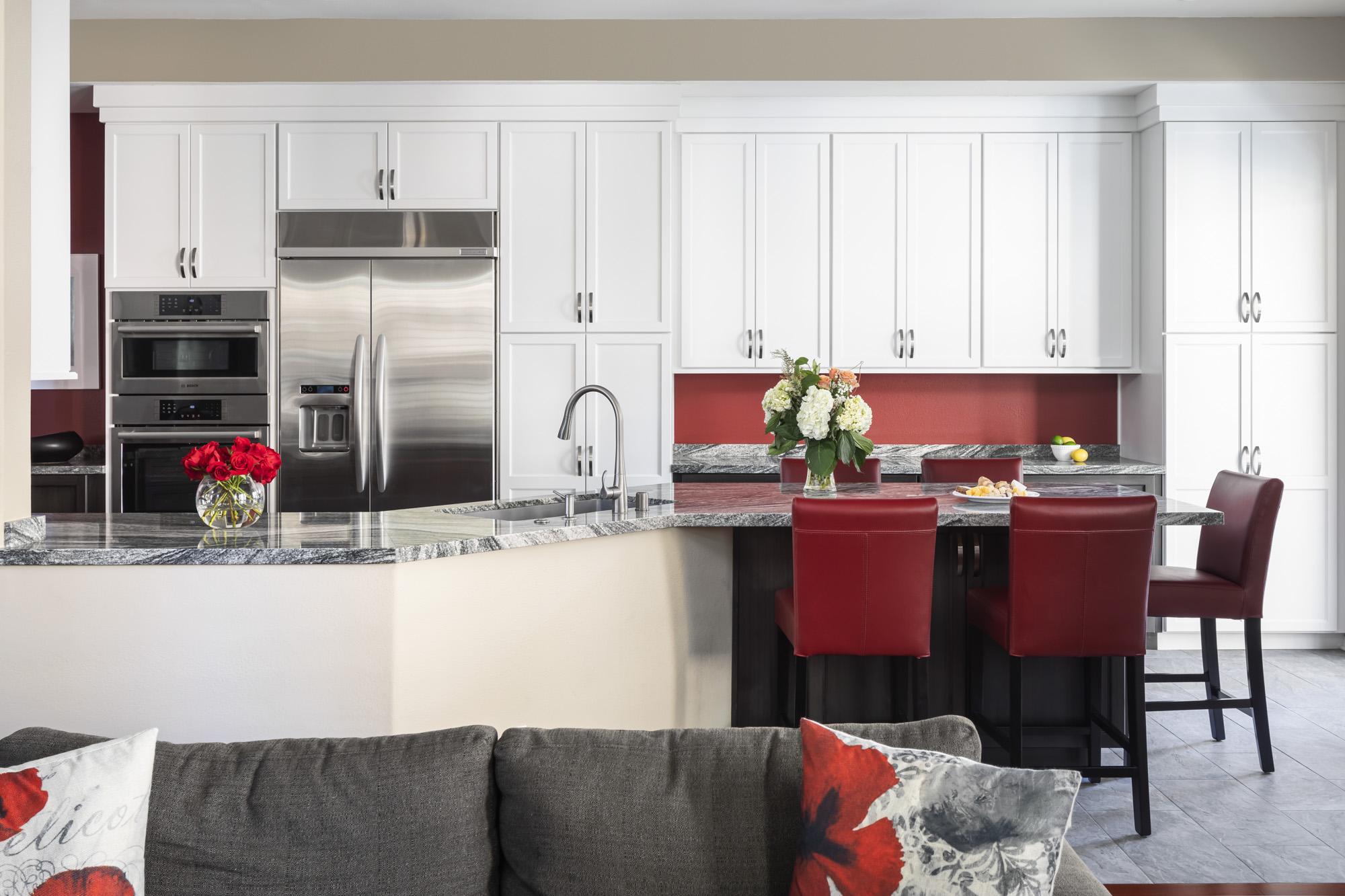 Tustin kitchen makeover brightens