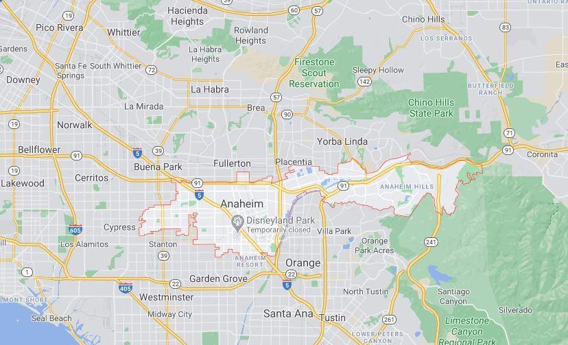 The City of Anaheim
