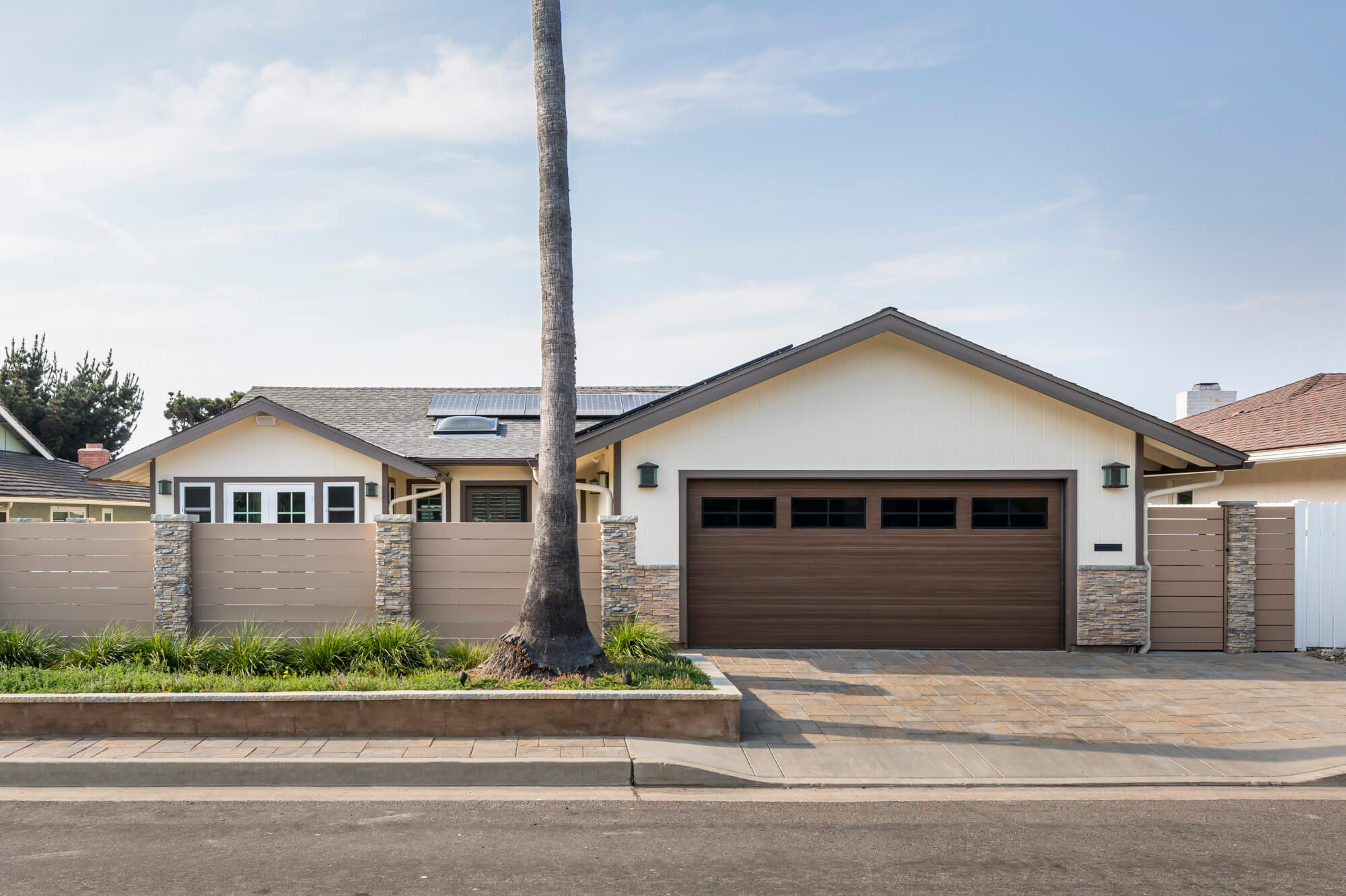 Street view of southern California home