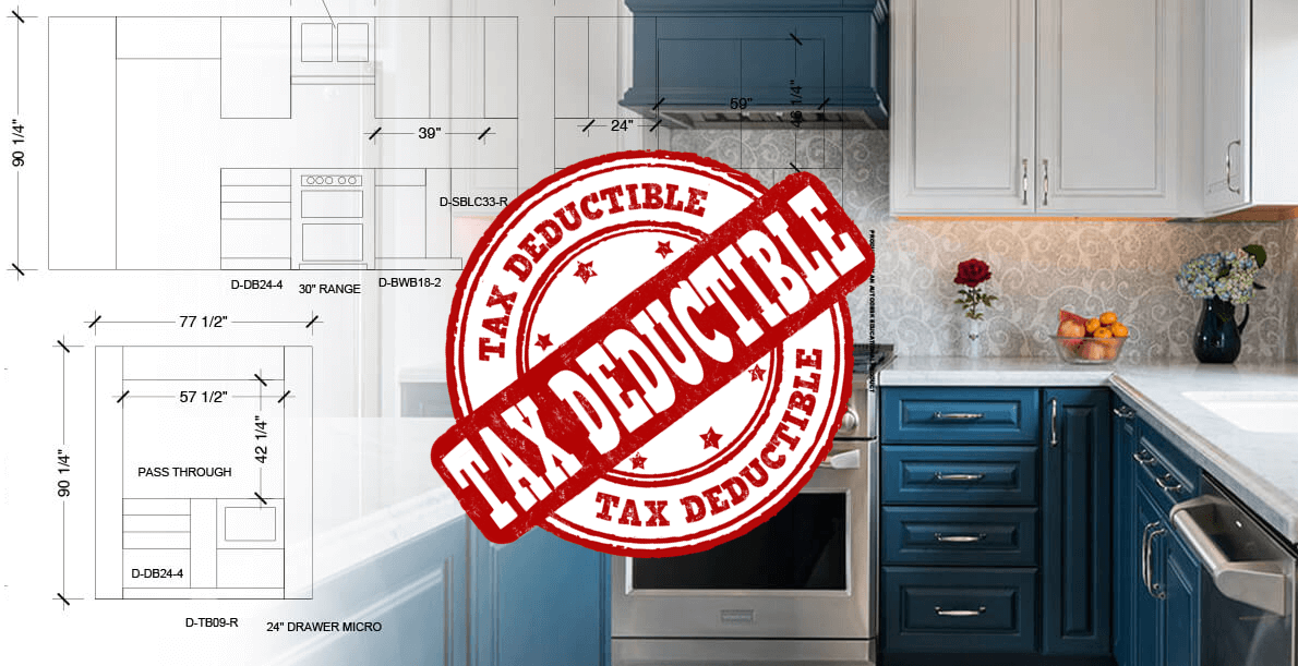 Is remodeling my home tax deductible?