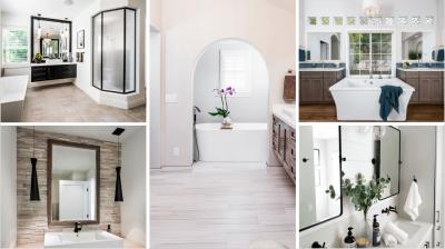 25 Bathroom Remodels & Why We LOVE Them